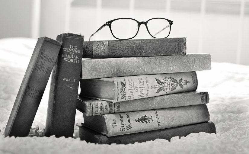 Bücherstabel in der Stadtbücherei Ravensburg
